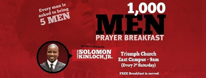 Triumphs ManChurch Monthly Mens Breakfast & Fellowship