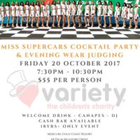 Miss Supercars Evening Wear Judging driven by Unibet