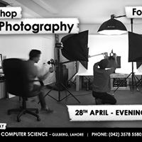 Free Workshop on Product Photography
