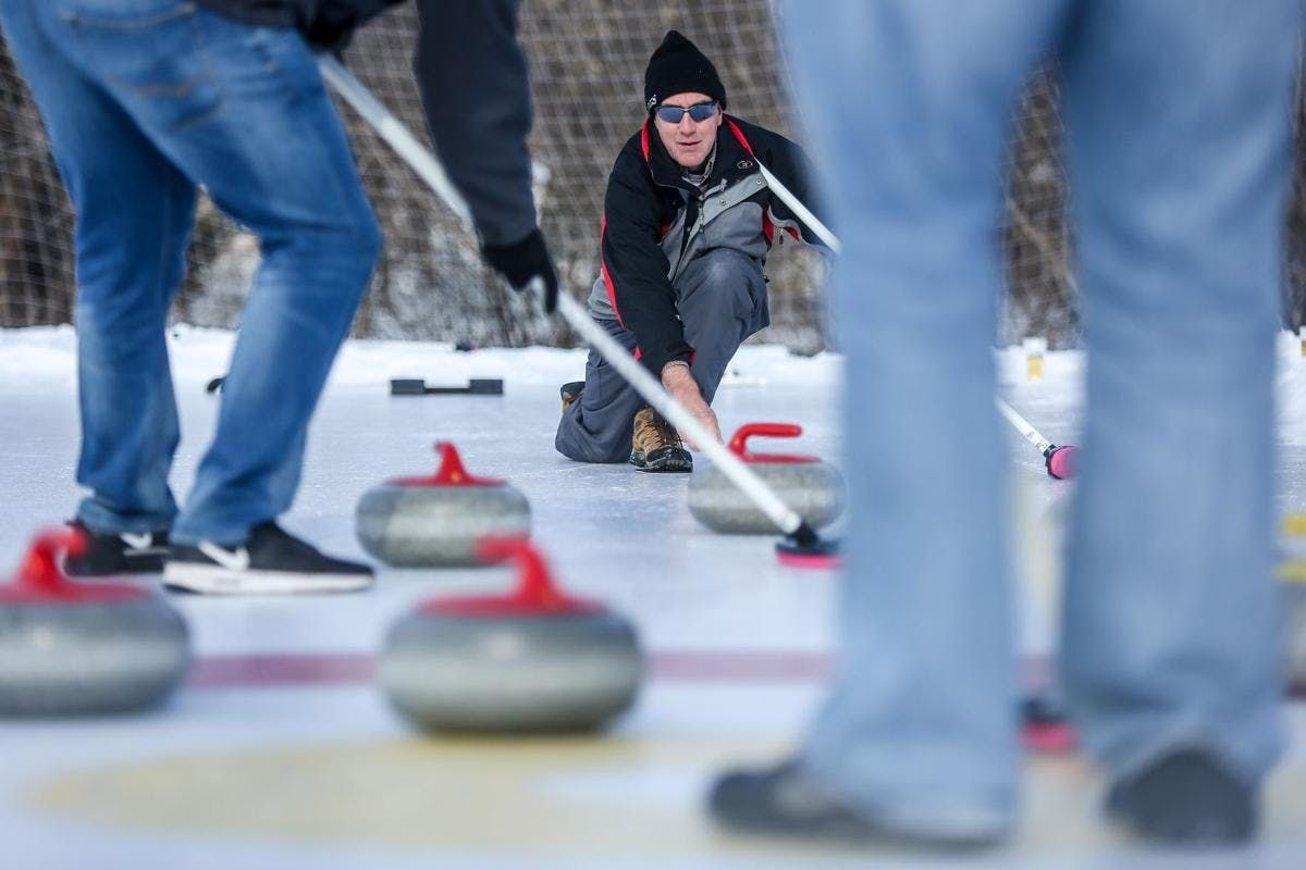 Rochester Outdoor Bonspiel Froth Frost and Flannel