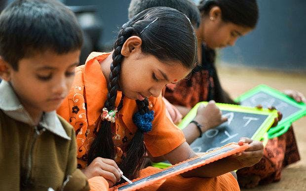 Multilingual children in underprivileged contexts literacy numeracy and cognition in primary school children in India