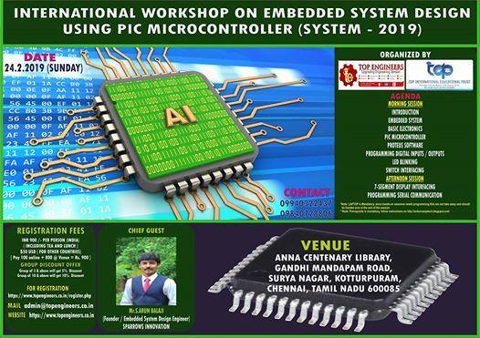 Workshop on Embedded System Design