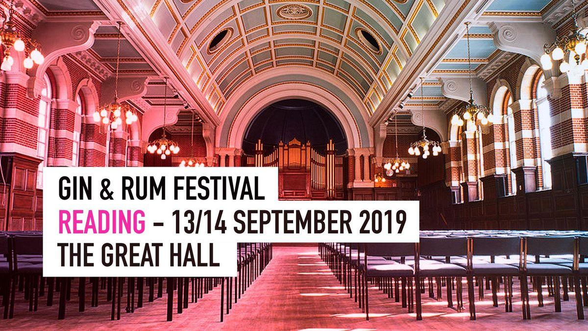 The Gin & Rum Festival - Reading - 2019