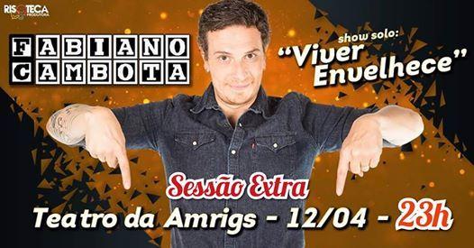 Fabiano Cambota em Porto Alegre