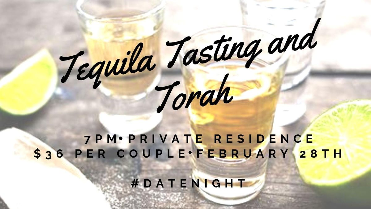 MJE Couples Presents: Tequila Tasting and Torah | Seattle