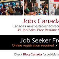 FREE Winnipeg Job Fair  Tuesday September 26th 2017