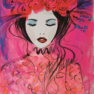 ArtNight Blumenmdchen in Pink am 24062019 in Bochum