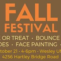 Fall Festival at Wesley UMC