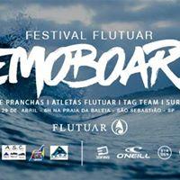 Festival Flutuar Demoboards - Praia da Baleia