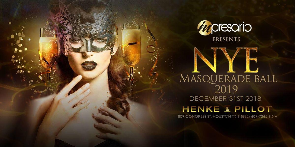 NEW YEARS EVE 2019 MASQUERADE - Henke & Pillot Houston