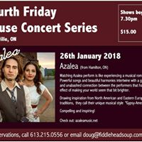 Fourth Friday House Concert presents Azalea