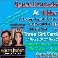 Special Karaoke  DJ Night  Tikka Guys