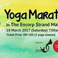 Yoga Marathon by InspiredYogaOneThatWeWant