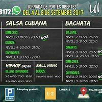 Portes obertes del 4-8 Setembre Udance Girona