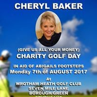 Cheryl Baker Golf Day