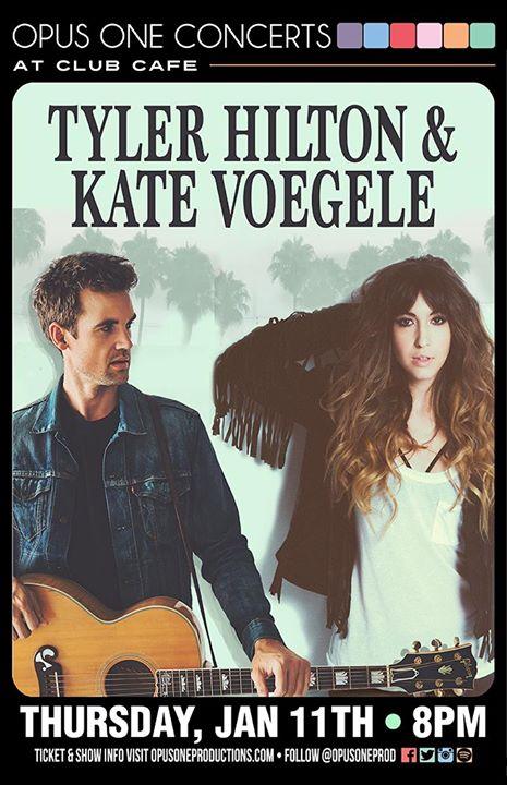 Tyler Hilton Kate Voegele 111 At Club Cafe W Leslie Dinicola