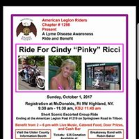 Ride For Cindy &quotPinky&quot Ricci