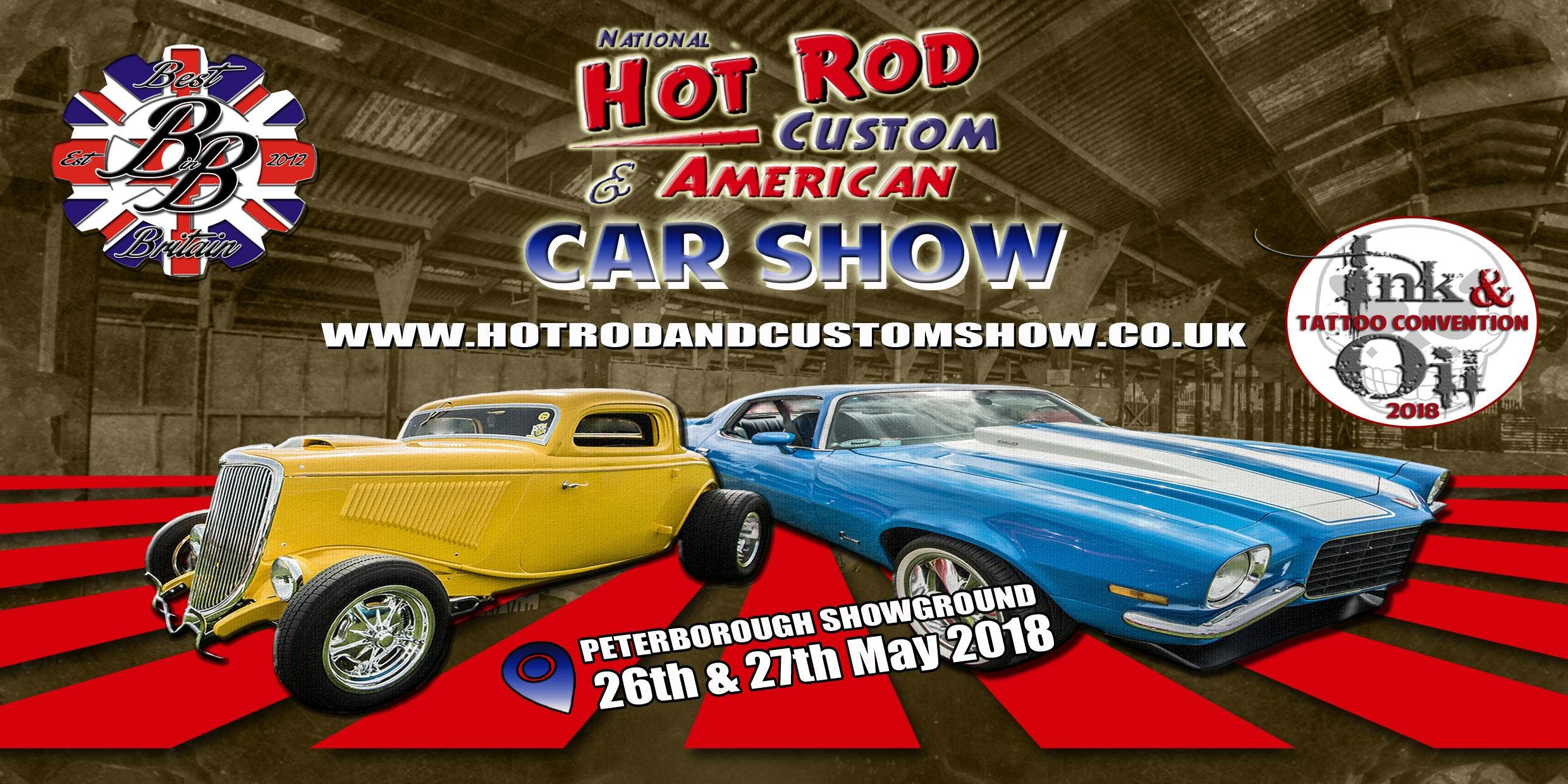 Hot Rod Custom American Car Show Th Th May At East - Hot rod show 2018