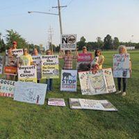 Kelly Miller Circus Protest Aurora 2 Days