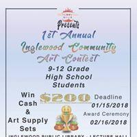 1st Annual Inglewood Community Art Contest