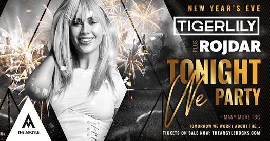 NYE 2018 Tonight We Party feat. Tigerlily & Rojdar