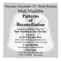 Matt Mauldin- Patterns of Reconciliation Book Release