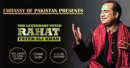 Rahat Fateh Ali Khan  Live in Concert