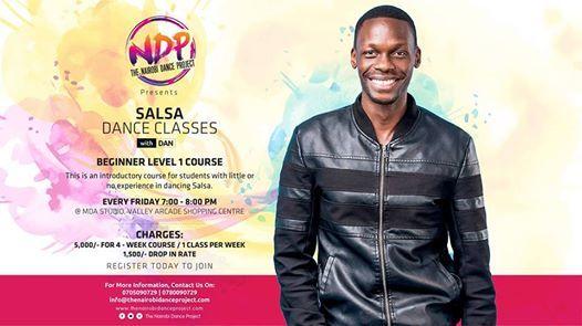Friday Salsa Class  Beginner Level