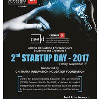 2nd Startup Day 2017