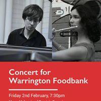 Warrington Foodbank Concert 2018