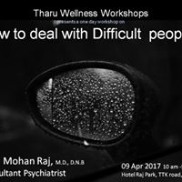 Workshop on How to deal with Difficult people