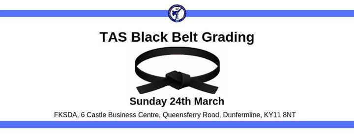 TAS Red Belt Seminar & Black Belt Grading