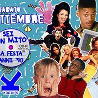 FESTA ANNI 90 TorinoKogins (Cs.Sicilia6) Sabato 23 Settembre