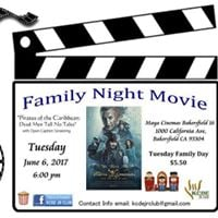 Family Night Movie &quot&quotPirates of the CaribbeanDead Men Tell No Tales&quot