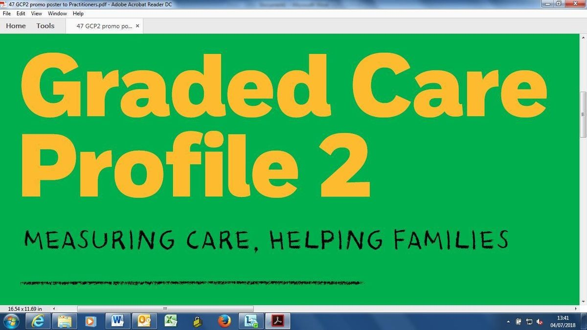 Graded Care Profile 2 Training