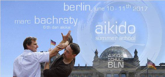 Marc Bachraty Aikido Summer School Berlin 2017