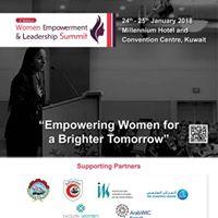 3rd Edition Kuwait Women Empowerment Leadership Summit 2018
