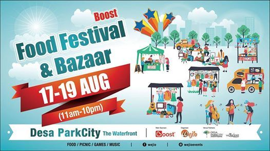 Boost Food Festival & Bazaar
