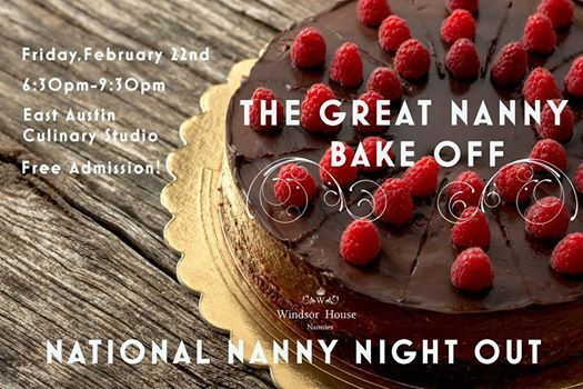 The Great Nanny Bake Off