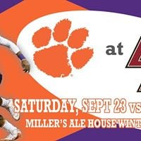 Clemson vs. Boston College Viewing Party