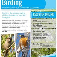 Lifelong Learning Birding