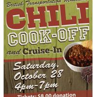 Chili Cook-off &amp Cruise-in