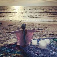 Crystal Bowl Meditation at Marco Yoga Fest