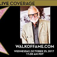 George A. Romero Hollywood Walk of Fame