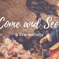 Come and See a live nativity