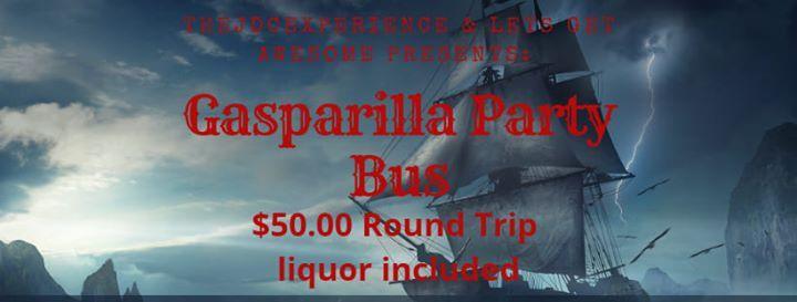 Gasparilla Party Bus