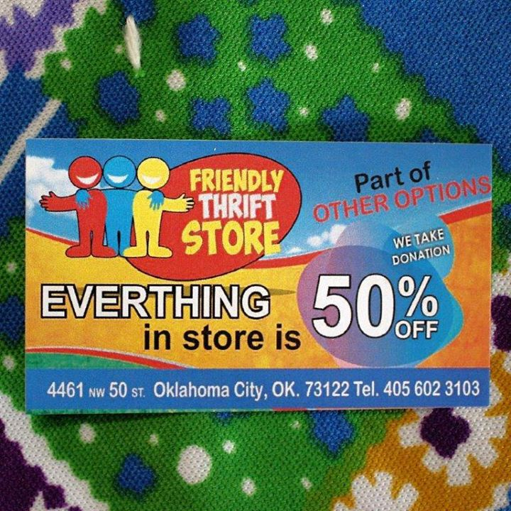 OOIFriendly Thrift Store 1st Anniversay Event