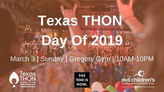 Texas THON Day Of 2019