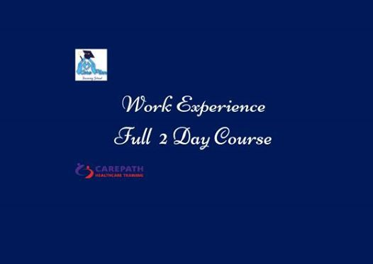 QQI Work Experience - Full 2 day course