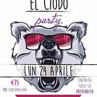 El Ciodo Party-Lun 24 Aprile
